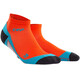 cep Dynamic+ - Calcetines Running Hombre - naranja/azul